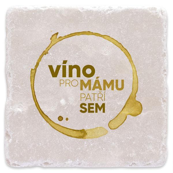 Bílé víno pro mámu