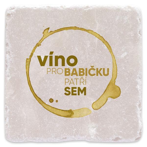 Bílé víno pro babičku
