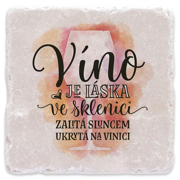Víno je láska - červené 02