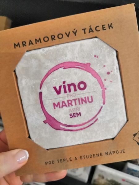 Víno pro Martinu - výprodej