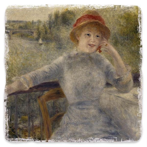 Portrét Alphonsine Fournaise